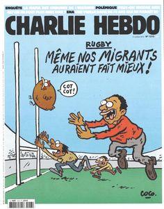 Charlie Hebdo - N° 1213 - Mercredi 21 Octobre 2015 - Couverture de Coco