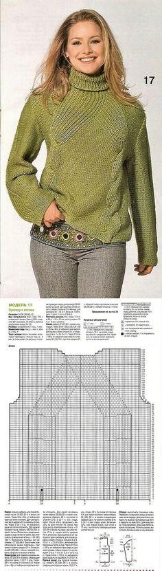 ПОДБОРКА ОРИГИНАЛЬНЫХ ДЖЕМПЕРОВ СПИЦАМИ | вязание кардиганов, пуловеров, жакетов | Постила