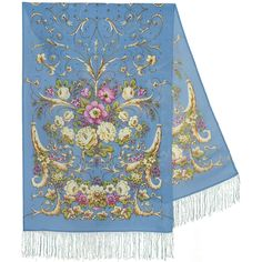 The Originals, Folklore, Rugs, Floral, Model, Home Decor, Light Blue, Flowers, Gifts