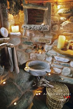 Stone Holiday House In The Woods - Picture gallery