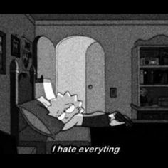 Sad and me :) Mood Wallpaper, Aesthetic Iphone Wallpaper, Disney Wallpaper, Cartoon Wallpaper, Wallpaper Quotes, Simpsons Quotes, Cartoon Quotes, The Simpsons, Quotes Deep Feelings