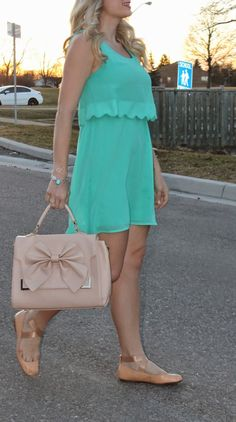 Scallops and bright summer colors. On trend for spring/summer!