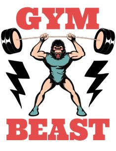 Beast, Clip Art, Gym, Fitness, Movies, Movie Posters, Film Poster, Films, Popcorn Posters