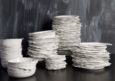 White pottery collection