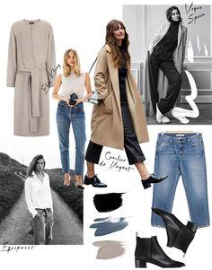 Minimalistic Wardrobe Inspiration - How to organise your closet.