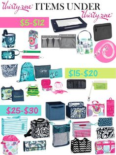 Love how many items under $30 we have to offer and excited for all the new patterns! Www.mythirtyone.com/449135