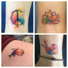 So so much fun! Sunday funday round two @21junkstreetau was a massive success!!! Hours of awesome people getting fun little watercolour tatties. Amazing music, rad food and coffee, and super spunky staff! Thanks for all being so patient! #tattoo #tattoos #tattooart #watercolourtattoo #watercolortattoo #21junkstreetau