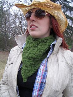 Cables and an infinity scarf! Two things I love! Ravelry: Irish Cowboy pattern by Jessie McKitrick #giftalong2014