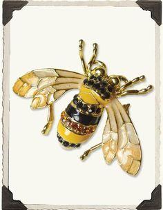 Honey Bee Brooch | Victorian Trading Company