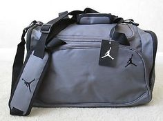 Nike Jordan Mens Basketball Gym Duffel Duffle Bag Gray Grey Style 8A1215-783 for only $36.99 You save: $3.01 (8%)
