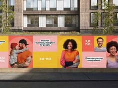 Sana Benefits Billboard Design by Handsome