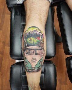 """196 tykkäystä, 3 kommenttia - VW TATTOO (@vwtattoogalery) Instagramissa: """"#vosvossevdasi #antvosder #vwtattoogalery #vosvos #vosvostv #vosvosturkey #travel #vosvostr…"""" Vw Tattoo, Tap Shoes, Dance Shoes, Busses, Vw Bus, Tattoo Inspiration, Sleeve Tattoos, Tatting, Body Art"""