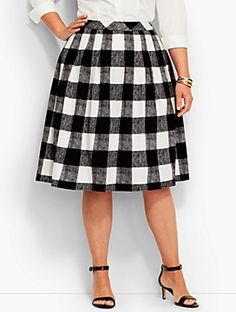 bauer plaid skirt Piper