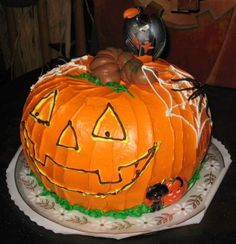 Burlingame Cakery Halloween cake
