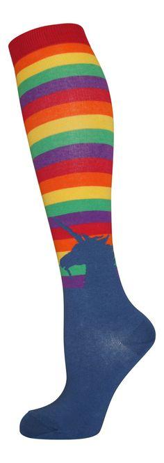 Rainbow Unicorn from lucky7socks.com