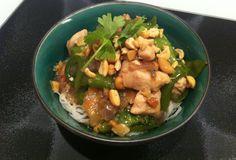 Asian month- Night 3: Marinated chicken stir fry