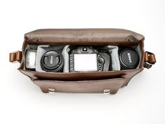 Leather Camera Bag by ONA