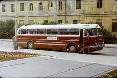 Old Ikarus Lux Bus, in Vilnius city, somewhere scan from old Orwo slide film, I don't remember camera name.