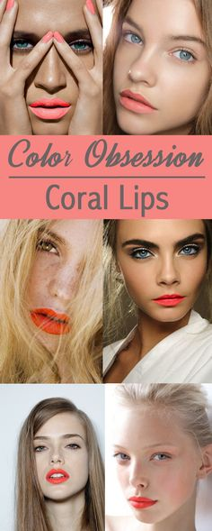 Coral lip obsessions