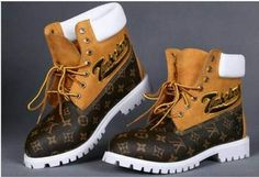 Sizes: 12 Colors: As-shown Custom LV men timberland boots. Custom Timberland Boots, Brown Timberland Boots, Timberland Boots Outfit, Timberland Waterproof Boots, Timberlands Shoes, Timberlands Women, Boot Over The Knee, Timbaland Boots, Zapatillas Jordan Retro