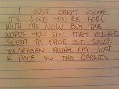 i m just a machine lyrics