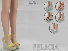 Madlen Felicia Shoes by MJ95 at TSR • Sims 4 Updates