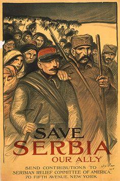 Save Serbia (1916). Théophile Alexandre Steinlen
