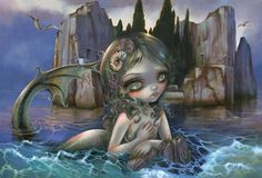 "Jasmine Becket-Griffith's Magical Thinking @ Corey Helford Gallery You might have noticed that we've been sharing sneak peeks of Jasmine Becket-Griffith's ""Magical Thinking"""