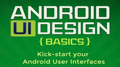 Android UI Design, eBook gratis sobre diseño de interfaz de usuario para Android