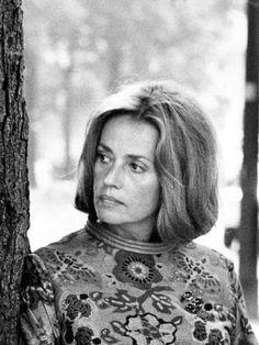 "fuckindiva: "" Jeanne Moreau at home, Paris "" Jeanne Moreau, French People, Grave, Peter Lindbergh, Schneider, Actresses, Bardot, Lady, Muse"