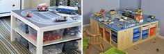 Zelf te maken speeltafel op basis van IKEA-meubels