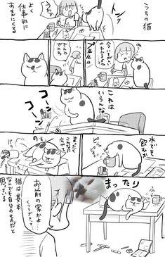 松本ひで吉 (@hidekiccan) さんの漫画 | 144作目 | ツイコミ(仮) Mammals, Animals And Pets, Kitty, Manga, Humor, Comics, Cats, Fictional Characters, Dragon Ball