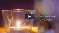 """""""A Day in Kos (Κως) - Greece"""" video is a part of my daily travel video series. Kos (Κως) is a beautiful small island… Travel Videos, Small Island, Kos, Shot Glass, Candle Holders, Beautiful, Porta Velas, Blackbird, Candle Stand"""