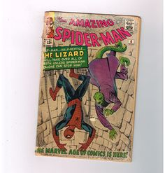 AMAZING SPIDER-MAN #6 Silver Age key issue from Marvel: First LIZARD appearance!  http://www.ebay.com/itm/AMAZING-SPIDER-MAN-6-Silver-Age-key-issue-Marvel-First-LIZARD-appearance-/291503142407?roken=cUgayN&soutkn=Sthw4o