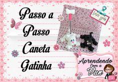 (DIY) PASSO A PASSO CANETA GATINHA COM MOLDE MINI PETS M