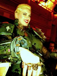 """moonjellybeans:  """"Don't let the smile fool you."""" I told Heather she looked like an armoured goddess. She totally does!"""