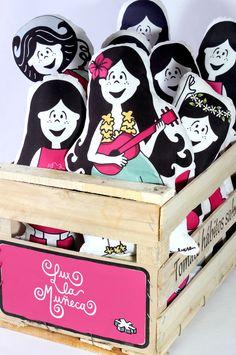 #lux la #muñeca #pink #argentina #ilustracion