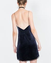 Image 3 of VELVET DRESS from Zara