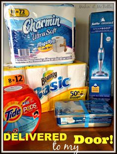 Makin' it Mo' Betta: Life made easier w/Walmart.com and P&G - Gift card GIVEAWAY {#sponsored}