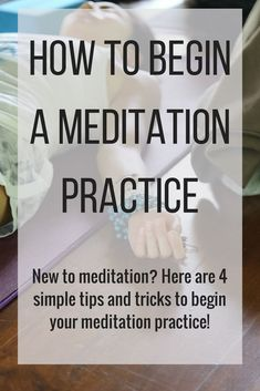 New to meditation? This is perfect for a beginner meditation practice. Use these mindfulness tips to bring meditation to your lifestyle! These activities are for perfect establishing a successful meditation practice New to meditation? Here are 4 simple ti Meditation For Anxiety, Buddhist Meditation, Meditation For Beginners, Meditation Benefits, Meditation Techniques, Meditation Quotes, Healing Meditation, Meditation Practices, Meditation Music