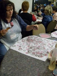 Printing With Found Objects Class at Hobby-X  info@dyeandprints.co.za