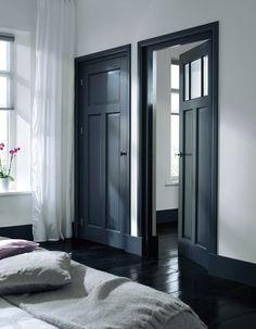 Skantrae Accent binnendeuren. Paneeldeur: SKS 1232. Paneeldeur met glas: SKS…