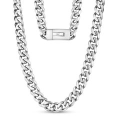 Silver Chain For Men, Chains For Men, Engraved Necklace, Stainless Steel Necklace, Cuban, Style Icons, Surface, Mens Fashion, Lifestyle