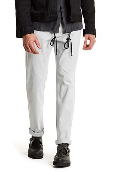 Stretch Slim Solid Pant