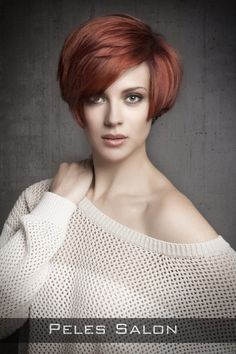 Short Hairstyle with Volume and Fringe