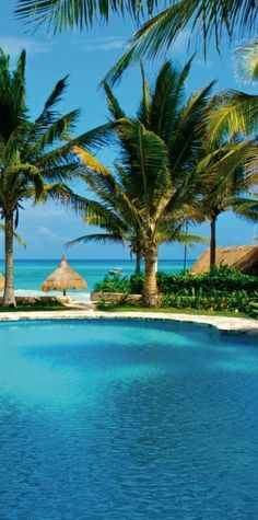 Swim with ease at the Maroma Resort & Spa in Mexico