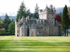 Invercauld Castle is a country house situated in Royal Deeside near Braemar in Scotland