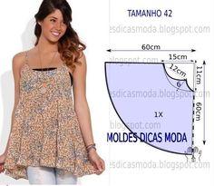 DIY Women's Clothing : Analise de forma detalhada o desenho do molde de blusa godé. Esta blusa é simp...  https://diypick.com/fashion/diy-clothes/diy-womens-clothing-analise-de-forma-detalhada-o-desenho-do-molde-de-blusa-gode-esta-blusa-e-simp/