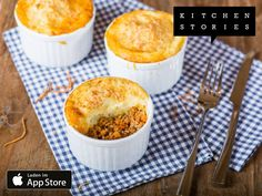 Ich koche gerade Shepherd's Pie mit @1KitchenStories - Lade dir die App über http://getkitchenstories.com herunter