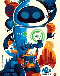 WALL•E by Tom Whalen